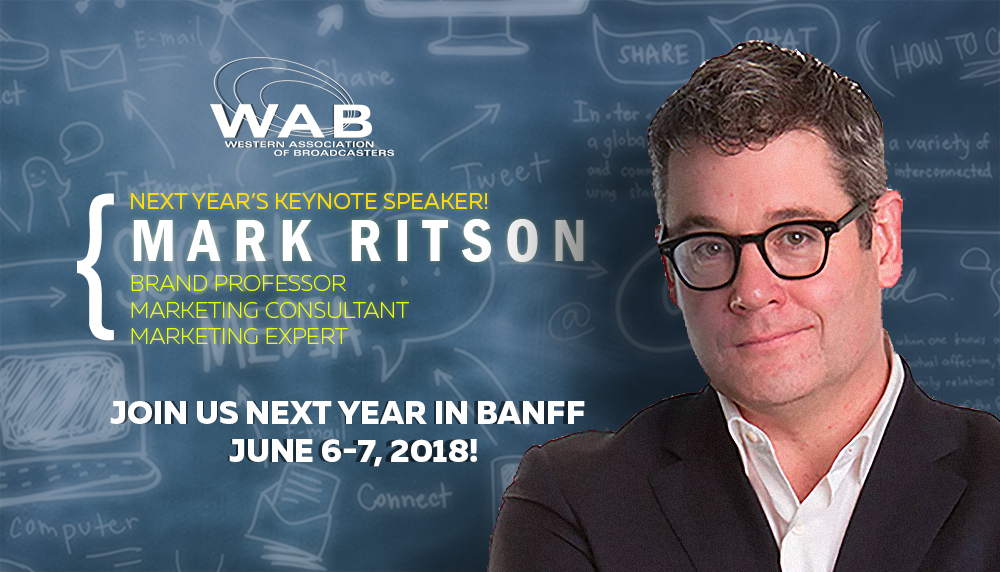 WAB Next year's keynote speaker Mark Ritson
