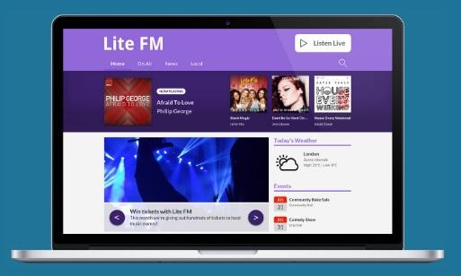 Radio Station Websites